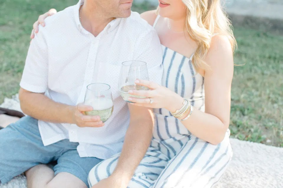 Champagne Photo Inspiration -Neutral Blue/White/Grey Engagement Session Outfit Inspiration - Cute Puppy with Button up Shirt - Grey Loft Studio - Ottawa Engagement Session - Tropical Gardens - Peony Styled Engagement - Jéhanne & Trevor -Wedding Photographer Ottawa - Wedding Photo Ottawa - Ottawa Wedding Videographer - Ottawa Wedding Photography & Videography - Ottawa Photo Studio