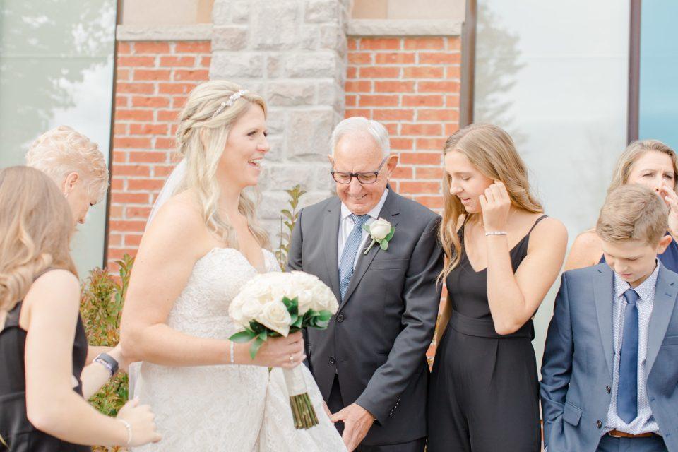 Family Formal Portraits - Holy Spirit Catholic Church Stittsville - Bride with Bridesmaids - Black and White Theme Wedding - Romantic Wedding at NeXt in Stittsville - Grey Loft Studio - Ottawa Wedding Photographer - Ottawa Wedding Photo & Video Team