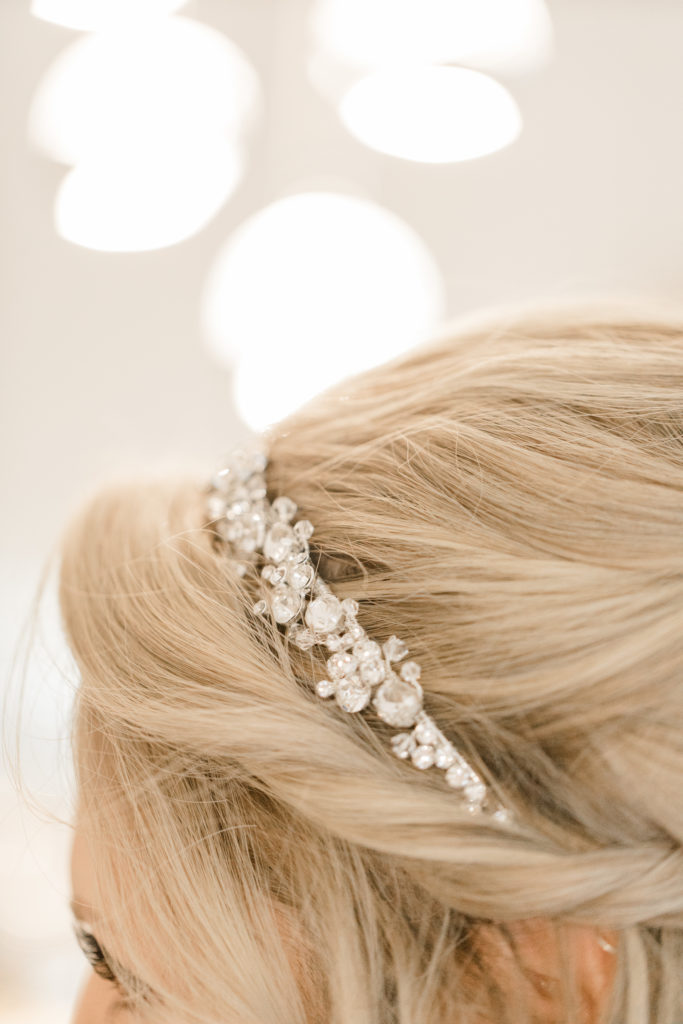 Bride getting Ready Photos -Hair Accessory - Romantic Wedding at NeXt in Stittsville - Grey Loft Studio - Ottawa Wedding Photographer - Ottawa Wedding Photo & Video Team