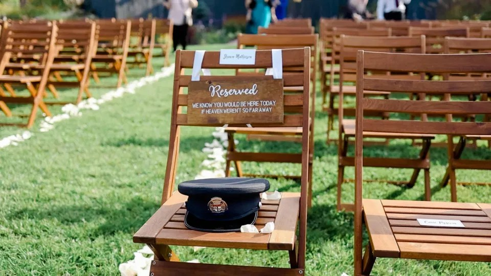 Remembering Those who are in Heaven - Groom's Father Passed Away - Sweet Way to recognize Him - Evermore Wedding and Events Almonte