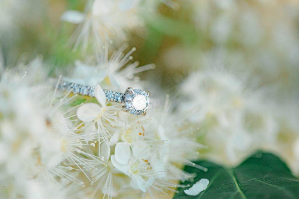 Ring Shot on Florals