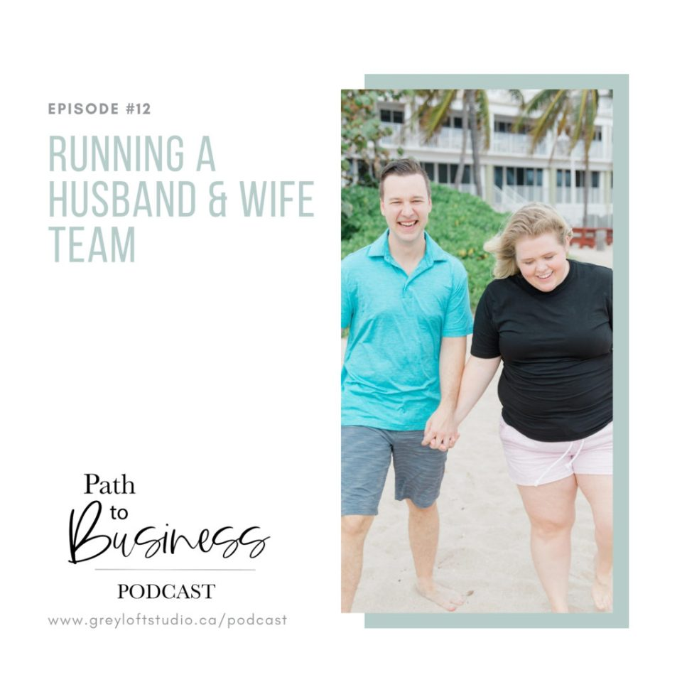 Running a Husband & Wife Team - Wedding Photographer &  Videographer Team - Building a business with your Spouse