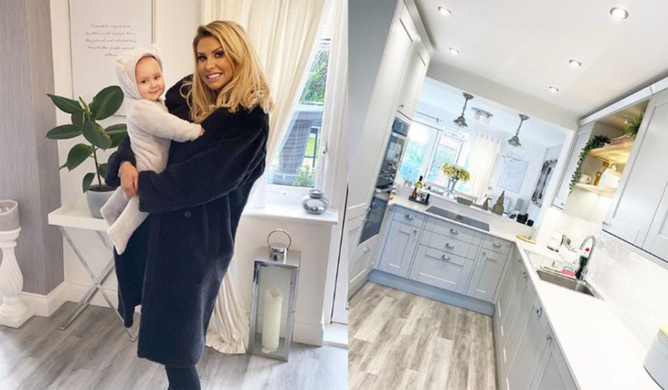Mrs Hinch, UK version of the famous Go Clean Co - Her famous Grey & White Kitchen