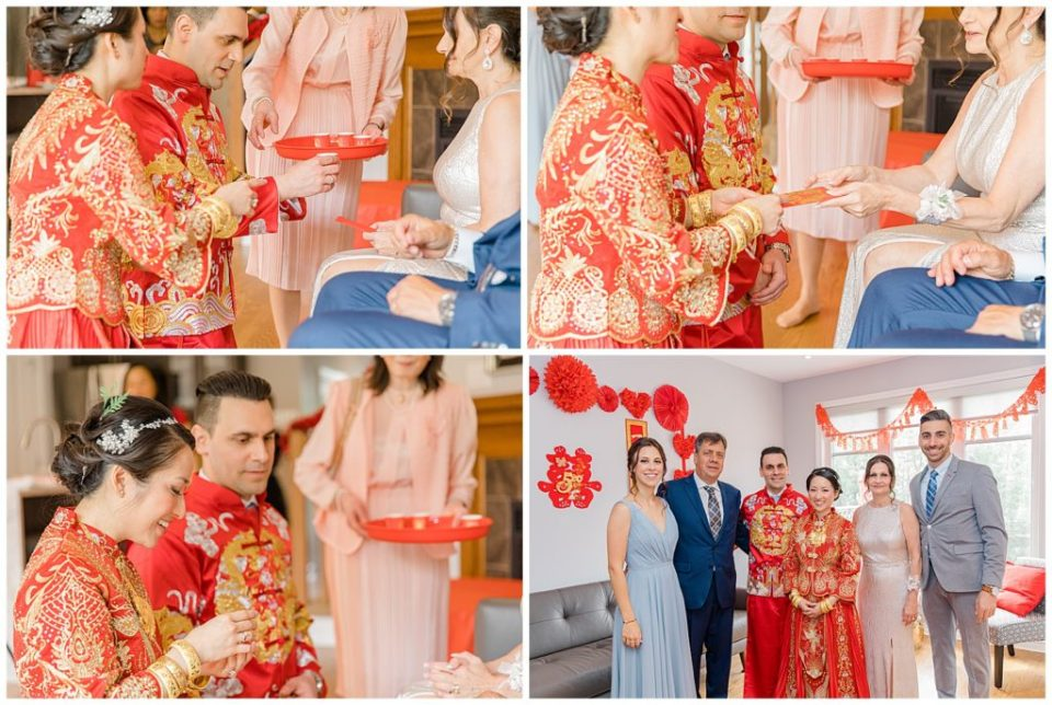 Traditional Tea Ceremony - Lisa & Pat - Grey Loft Studio - Wedding Photo & Video Team - Light and Airy - Ottawa Wedding Photographer & Videographer