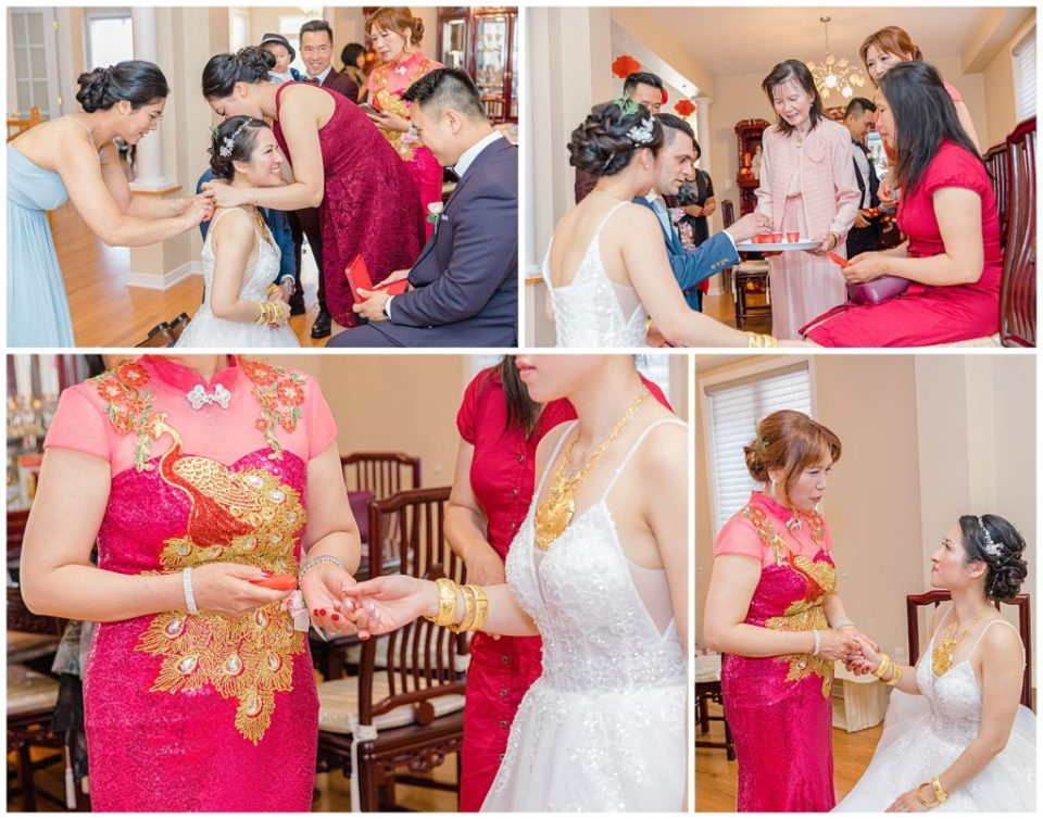 Bride & Mother - Traditional Chinese Outfits in Canada - Lisa & Pat - Grey Loft Studio - Wedding Photo & Video Team - Light and Airy - Ottawa Wedding Photographer & Videographer