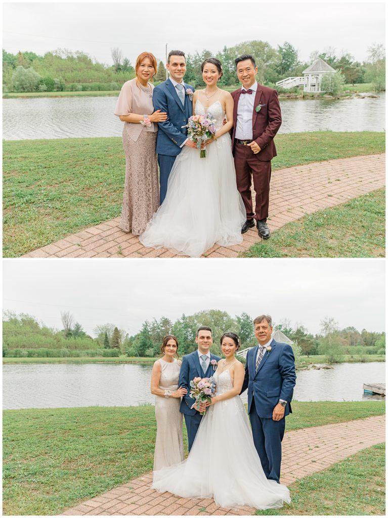Family Photos - Italian & Chinese Family - Wedding - Lisa & Pat - Grey Loft Studio - Wedding Photo & Video Team - Light and Airy - Ottawa Wedding Photographer & Videographer Orchard View Weddings