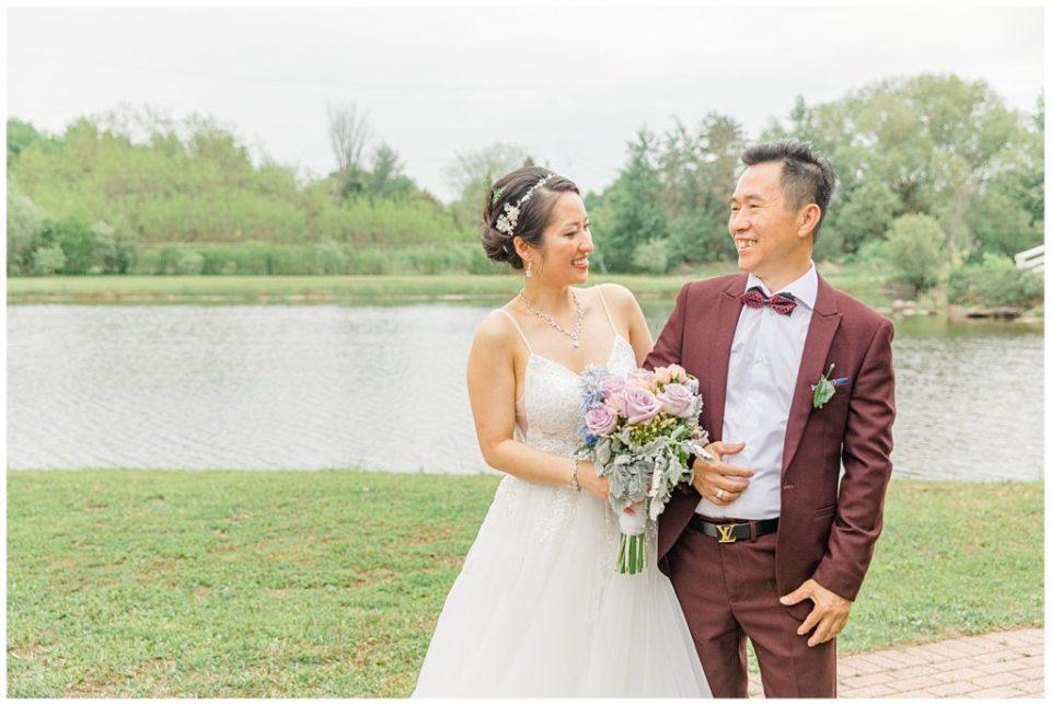 Daughter and Dad on Wedding Day - Italian & Chinese Family - Wedding - Lisa & Pat - Grey Loft Studio - Wedding Photo & Video Team - Light and Airy - Ottawa Wedding Photographer & Videographer Orchard View Weddings
