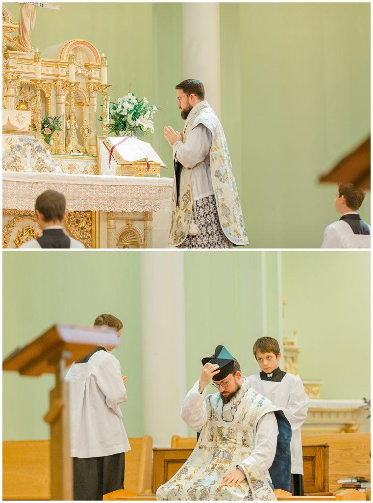 Roman Catholic Church - Latin Led - St Clements Parish Ottawa - Wedding Day - Grey Loft Studio - Wedding Photographer