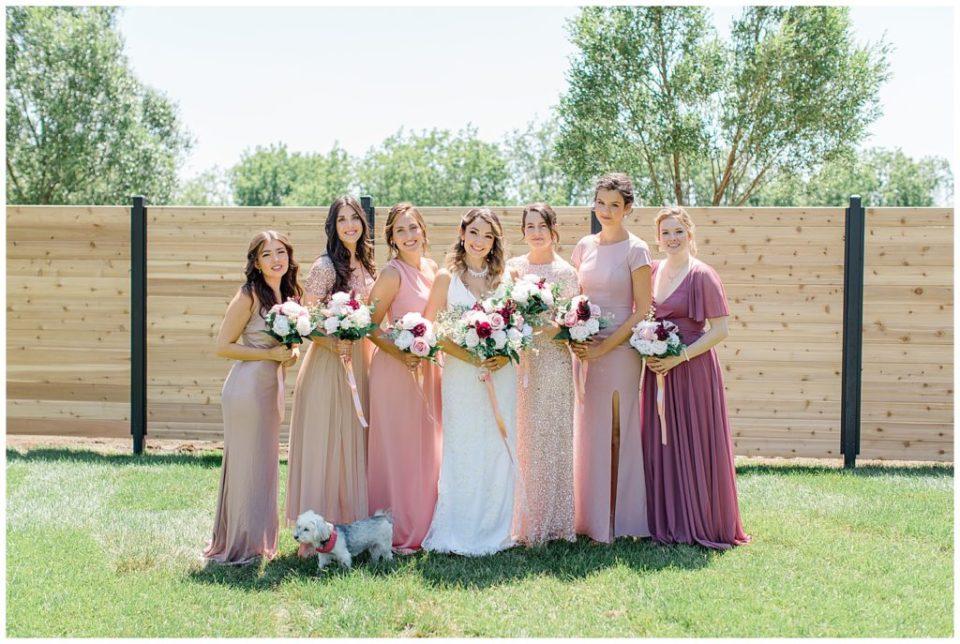 Bride & Bridesmaid Portraits & Poses Ottawa Wedding Photographer & Videographer -Light and Airy - Kanata, Westboro, Orleans - Luxury, Genuine, Affordable Photography.