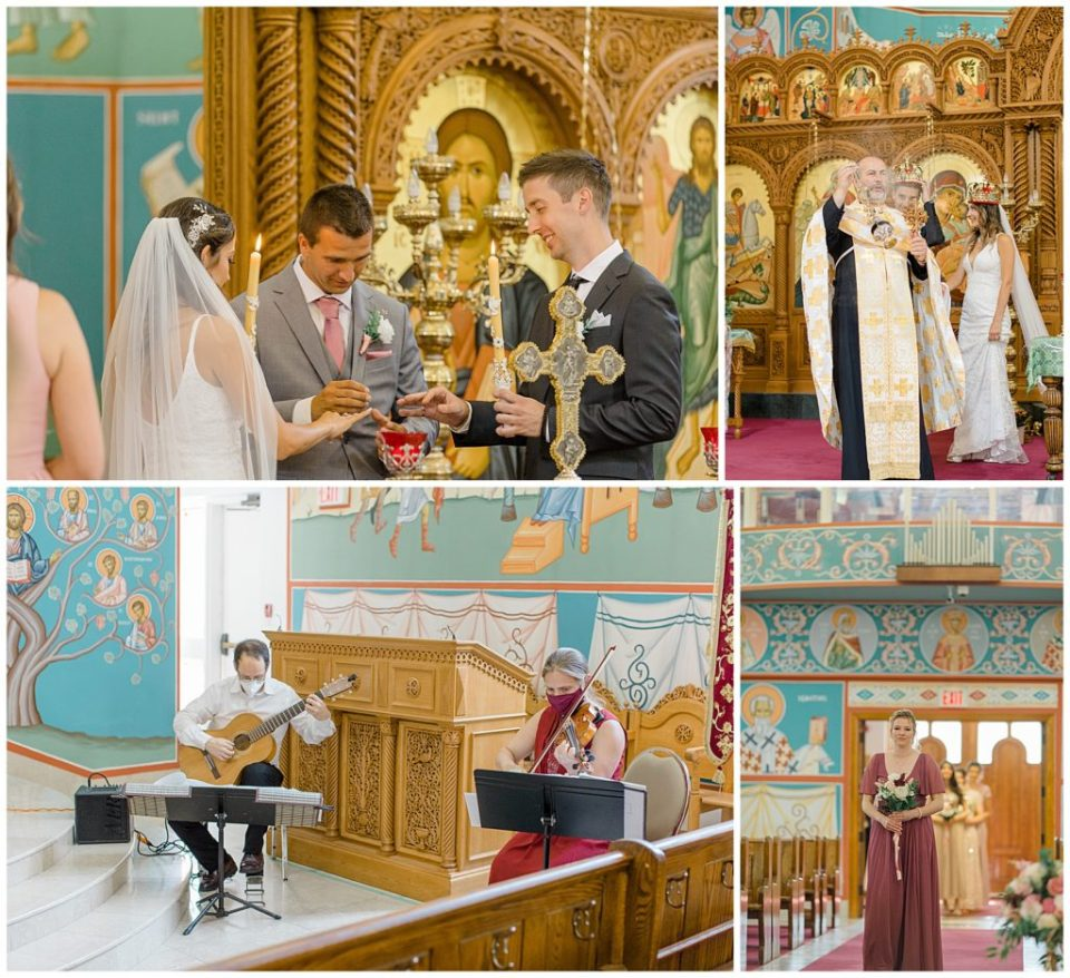 Bride & Groom at Church- Grey Loft Studio - St. Elias Cathedral -Ottawa Wedding Photographer & Videographer -Light and Airy - Kanata, Westboro, Orleans - Luxury, Genuine, Affordable Photography.