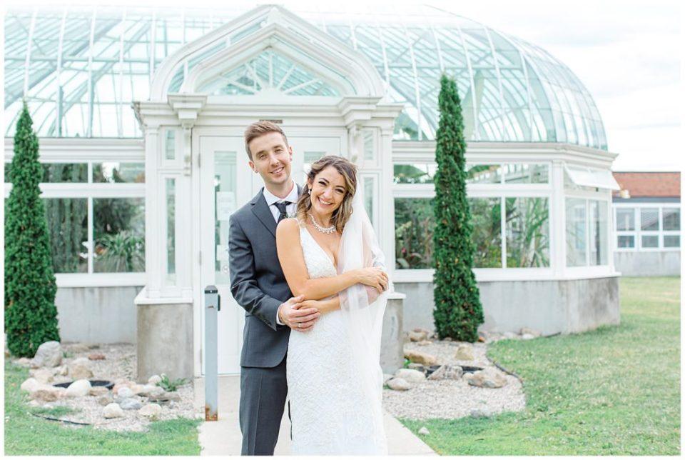 Tropical Greenhouse- Bride and Groom Portraits - Grey Loft Studio - Ottawa Wedding Photographer & Videographer -Light and Airy - Kanata, Westboro, Orleans - Luxury, Genuine, Affordable Photography.