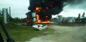 Oil Tank Explosion Highlights Need for Retractable Grounding Assembly