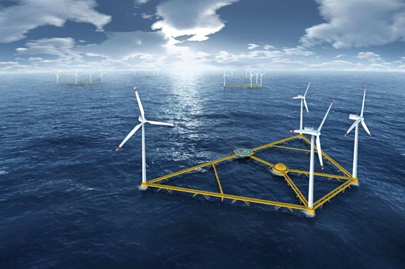 Hexicon's proposed wind energy platform
