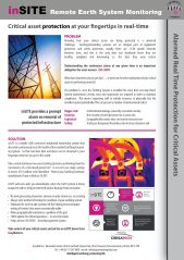 inSITE Remote electrical earthing system monitoring Brochure