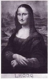 Marcel Duchamp - LHOOQ