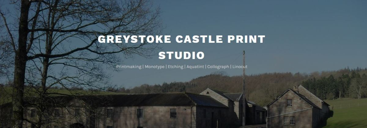 Greystoke Castle Print Studio WordPress Website Design