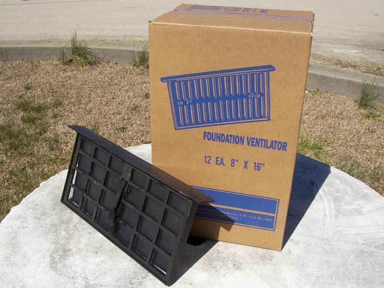 Foundation Vent - Free Flow