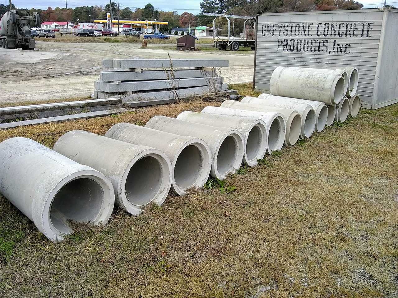 """Reinforced Pipe 18"""""""