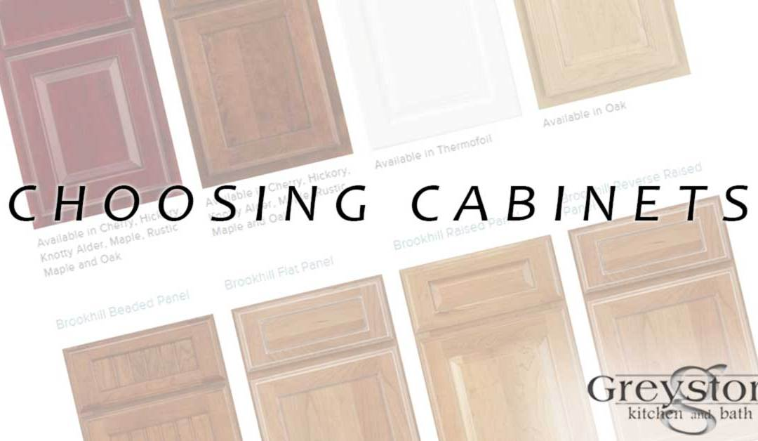 Choosing Cabinets