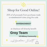 Grey Team and Kendra Scott Team Up For Change.