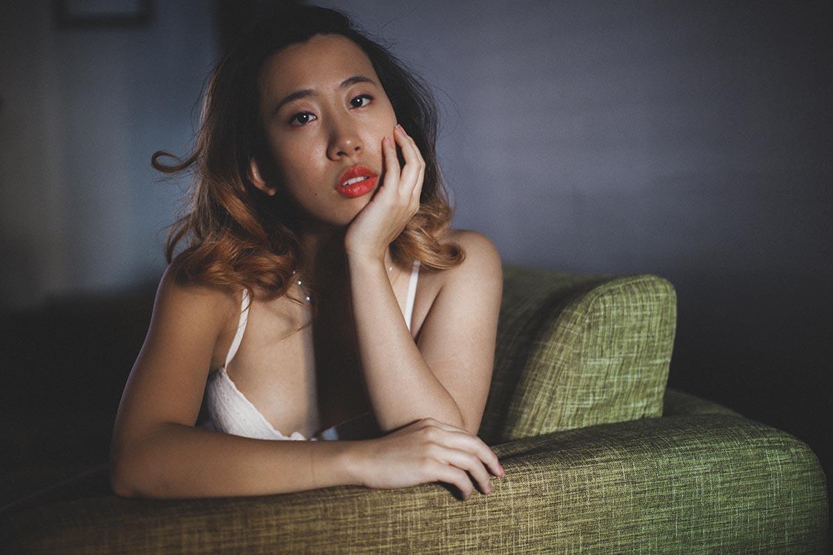 Twin Cities Boudoir Photography Asian Woman