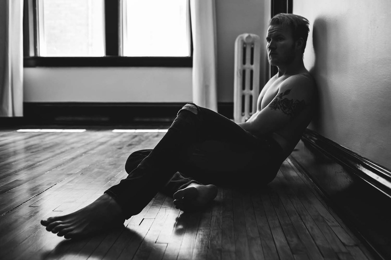 Austin Male Intimate Portrait Photography Twin Cities