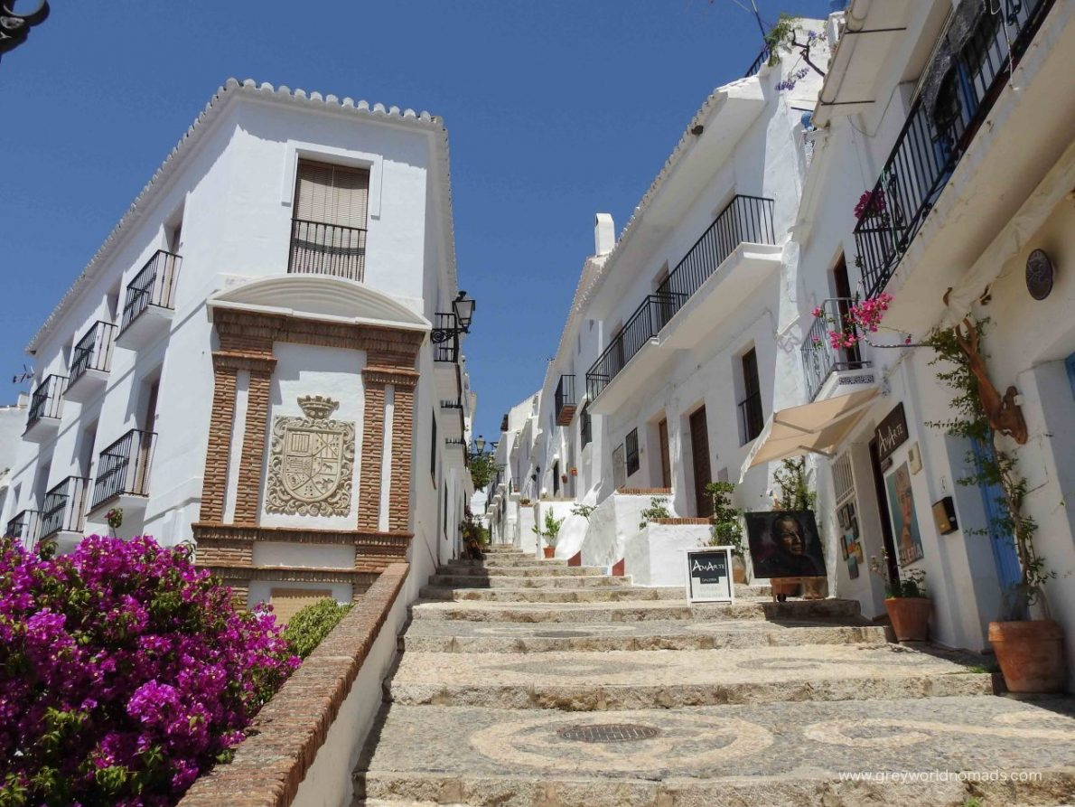 Most Beautiful Of The White Villages In Andalusia, Spain