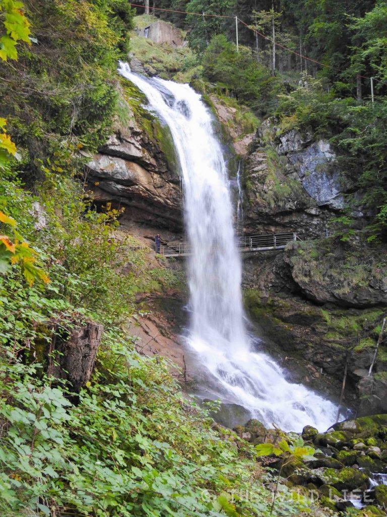 Lake Brienz Waterfall