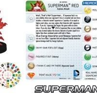 DC HeroClix SUPERMAN/WONDER WOMAN previews over on heroclix.com....