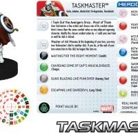 Marvel HeroClix CIVIL WAR Organized Play: Taskmaster!
