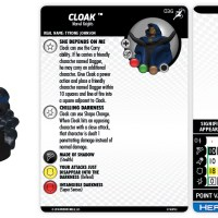 Marvel HeroClix: Superior Foes of Spider-Man - Cloak & Dagger - HeroClix by Wizkids Games