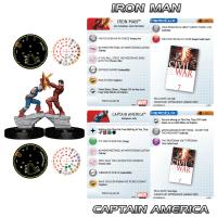 Marvel HeroClix: Civil War Storyline OP Grand Prizes - HeroClix by Wizkids Games