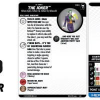 """Archiving!"": DC Comics HeroClix JOKER'S WILD previews (various)."