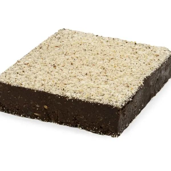 Brownie senza zucchero crudista vegano