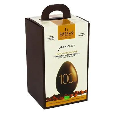 100 uovo di cioccolato crudo senza zucchero vegano senza lattosio senza glutine