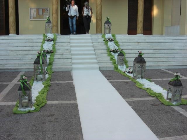 στολισμός γάμου στη μεταμόρφωση σωτήρος στην αλσούπολη