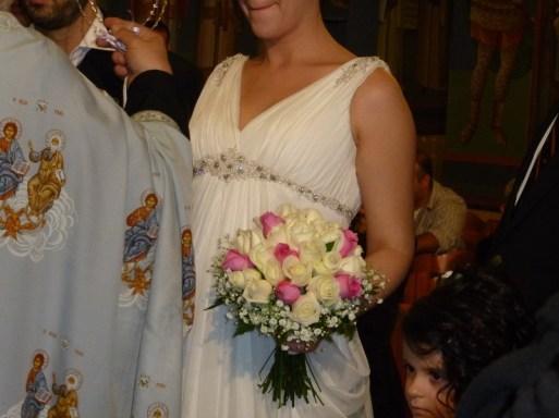 στολισμός γάμου 420 ευρώ! νυφική ανθοδέσμη