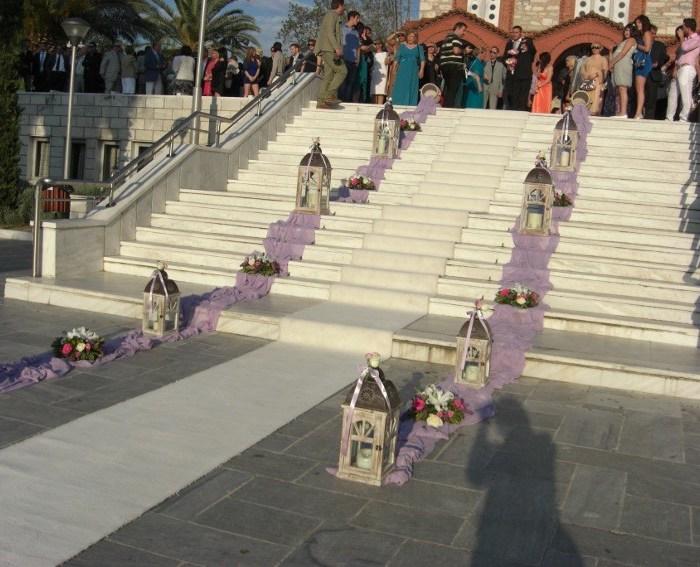 Στολισμός γάμου με 550 ευρώ στον Άγιο Νικόλαο Χαλανδρίου