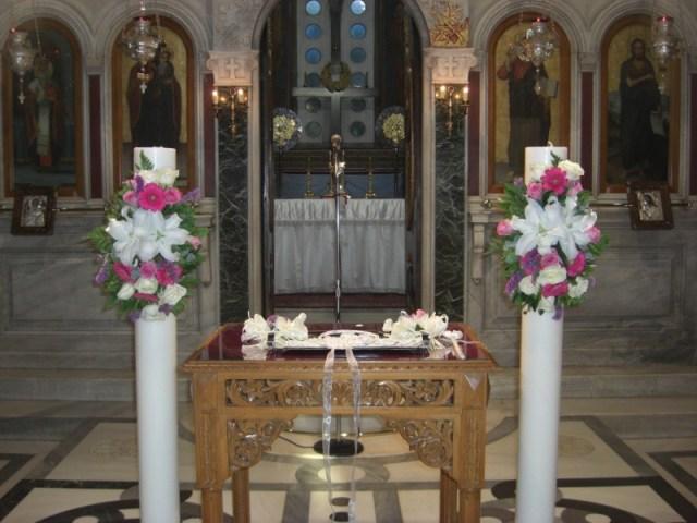 στολισμός γάμου 550 ευρώ! στολισμός λαμπάδων και λαμπάδες