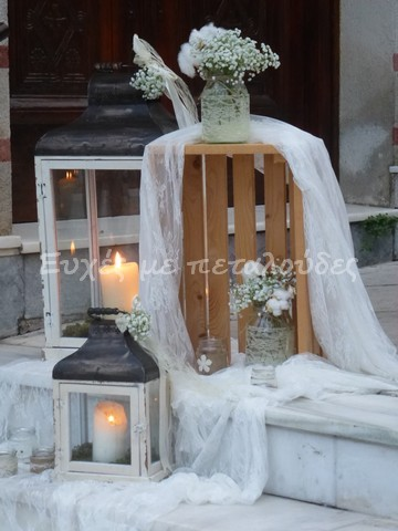 Στολισμός γάμου Αγία Μαρίνα Θησείο