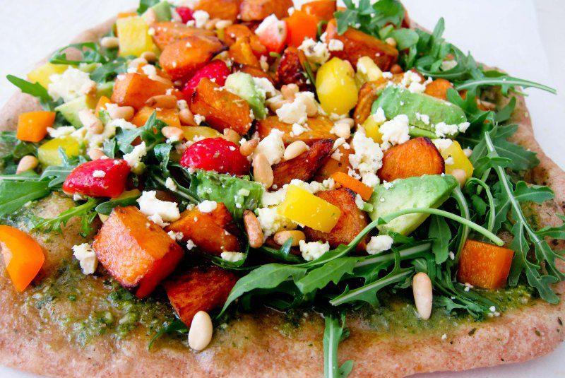 Sumarleg salatpitsa