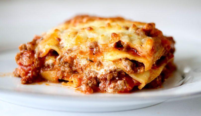 Ljómandi lasagna með rjómaostasósu