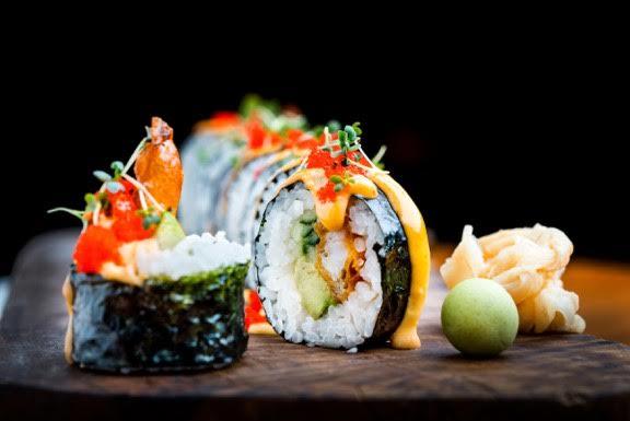 Sushi Social eintök blanda af japanskri og suður-amerískri matargerð