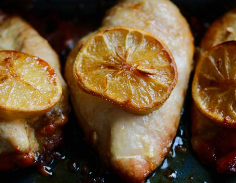 Appelsínu- og rósmarín kjúklingur