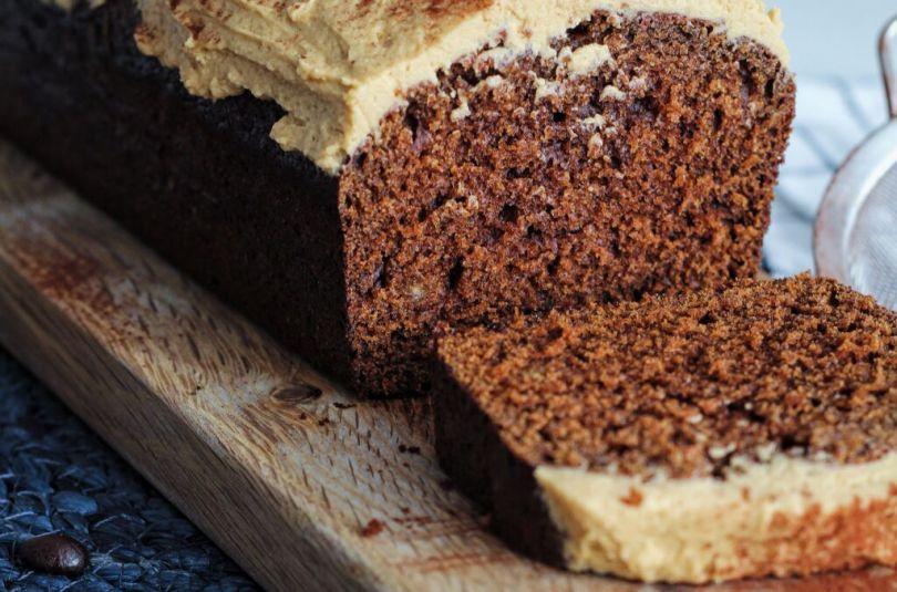 Cappuchino kaka með silkimjúku kaffikremi
