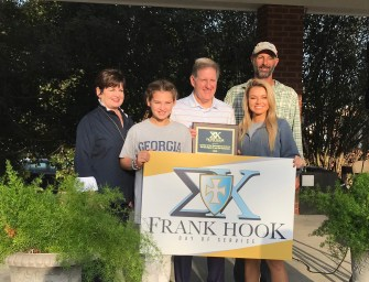 Sigma Chi Honors Frank Hook with an Annual Day of Service