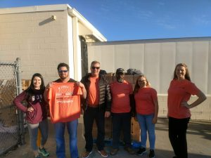 Volunteers for Feed the Boro