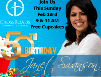 Janet Swanson's 50th Celebrated at Crossroads Sunday