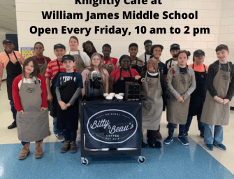 Knightly Cafe at William James Open to Public on Fridays