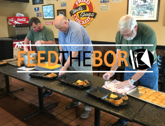 Feed The Boro Feeds Public Safety and Hospital Staff for Easter